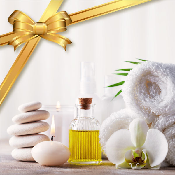 Spa package gift card